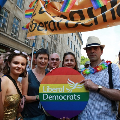 Liberal Democrats at Pride London 2018